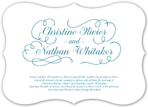 Wedding Invitations - sweet embrace