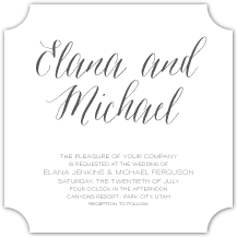 Wedding Invitations - sonoma