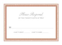 Response Card - antoinette