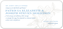 Wedding Invitations - flowering dogwood
