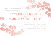 Wedding Invitations - spring blossoms