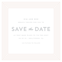 Save the Date Card - decoline