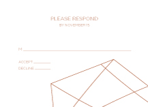 Response Card - etched in stone