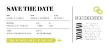 Save the Date Card - fly with me