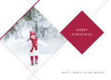 Christmas Cards - cosmopolitan holiday