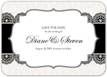 Save the Date Card - simple elegance