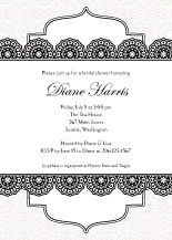 Wedding Shower Invitation - simple elegance
