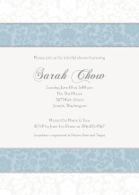 Wedding Shower Invitation - sweet sophistication