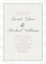Wedding Invitations - sweet sophistication