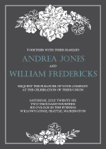 Wedding Invitations - elanore's garden