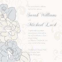 Wedding Invitations - botanical