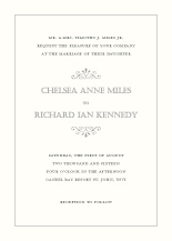 Wedding Invitations - garden swirl