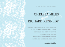 Wedding Invitations - wedding lace