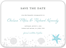 Save the Date Card - nautical collection