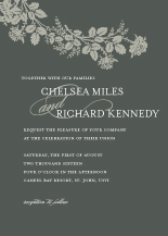 Wedding Invitations - victorian roses