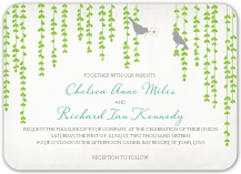 Wedding Invitations - mid summer afternoon