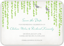 Save the Date Card - mid summer afternoon