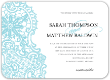 Wedding Invitations - lace