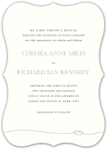 Wedding Invitations - tying the knot
