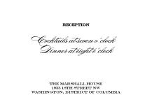 Reception Card - traditional wedding