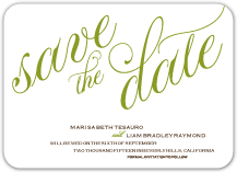 Save the Date Card - florentine