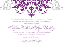 Wedding Invitations - florentine