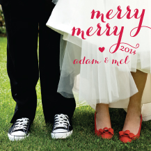 Christmas Cards - merry merry
