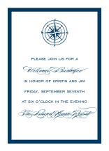 Reception Card - freeport sailboat