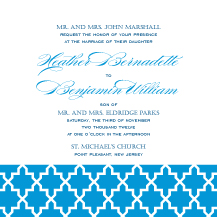 Wedding Invitations - trellis