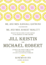 Wedding Invitations - sunburst