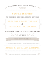 Wedding Invitations - vintage beauty