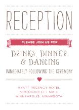 Reception Card - whimsical union