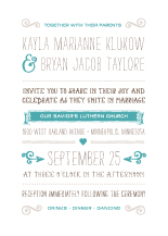 Wedding Invitations - whimsical union