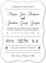 Wedding Invitations - modern meets vintage
