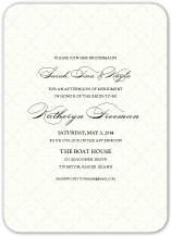 Wedding Shower Invitation - classic calligraphy
