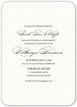 Wedding Shower Invitation - classic calligraphy