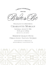 Wedding Shower Invitation - classic revival