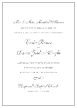 Wedding Invitations - heirloom