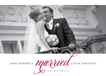 Christmas Cards - married christmas