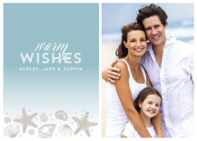 Holiday Cards - seaside wishes