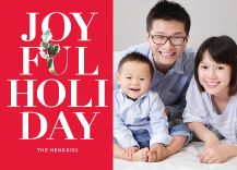 Holiday Cards - joyful holiday