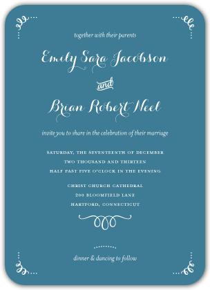 Wedding Invitations - Head Over Heels
