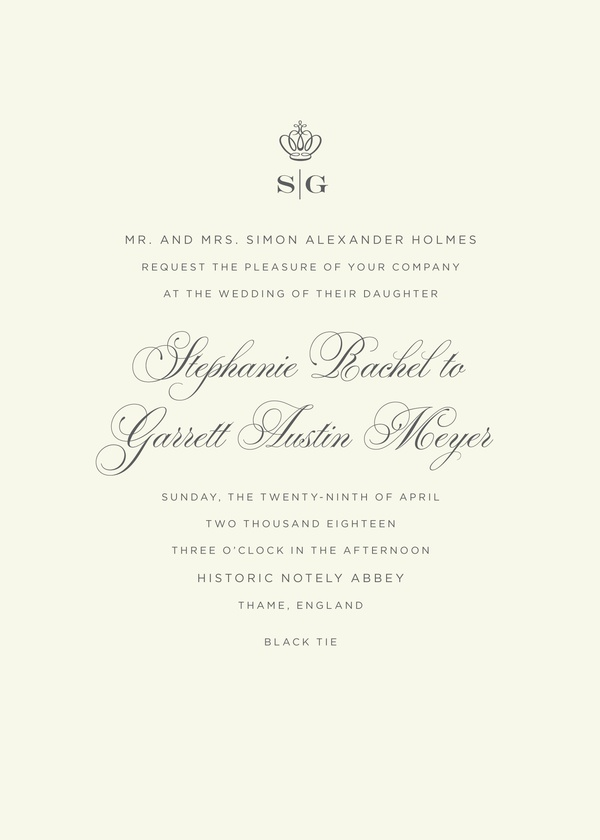 Regal - Wedding Invitations | Kleinfeld Paper