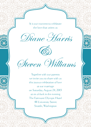 Wedding Invitations - Simple Elegance