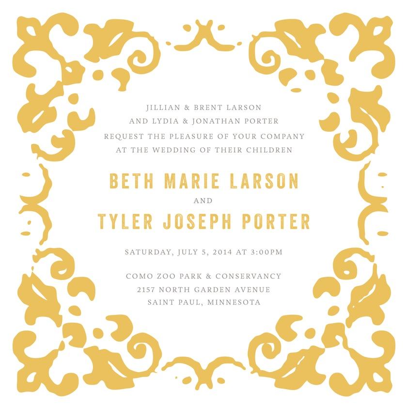 Rustic Garden - Wedding Invitations   Kleinfeld Paper