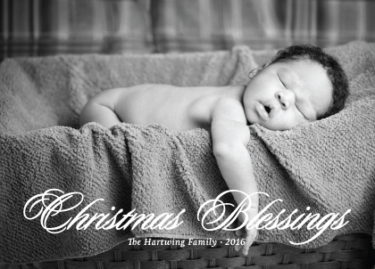 Christmas Cards - Christmas Blessings